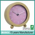 Artesanías de madera de alarma relojes / dial digital reloj despertador reloj de mesa / caliente venta de relojes de madera
