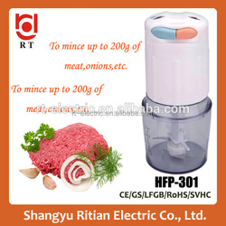 kitchen appliance hot sale product stainless steel manual blade electric food chopper