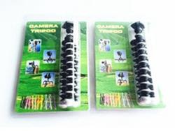 "7"" gorillapod mini camera flexible tripod with blister package"