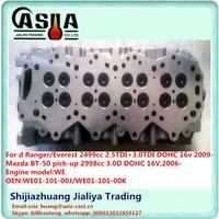 Complete WE Cylinder Head WE01-101-00K Applied for MAZDA BT-50
