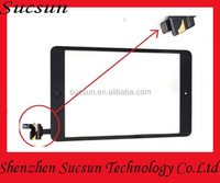 Wholesale 2014 high quality digitizer for apple ipad 2 mini touch screen assembly with ic connector
