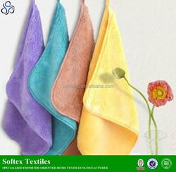Microfiber hanging kitchen hand towels with tie