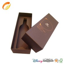 Factory price wine glass packaging boxes cardboard wine boxes