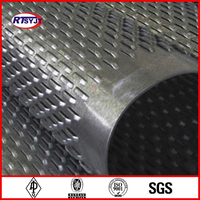 NU1-2 OD 33.4mm, Wall Thickness4.55mm Stainless Steell Spiral Welding Bridge Slot Screen