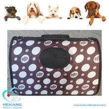 colorful canvas pet cat dog carrier bag