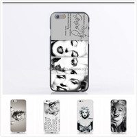 China Wholesale Sexy Lady Marilyn Monroe Mobile Phone Cover Case For Iphone 4 TPU Soft Cover Case For Apple Iphone 4 4S