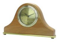 Promotional Wooden Desk Clock with Alarm