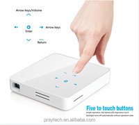 Factory wholesale mini projector with VGA 1080p mini projector for mobile phone