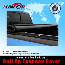 access tonneau cover warranty for Toyota Compact Pickup 6' Short Bed Model 1989-2004