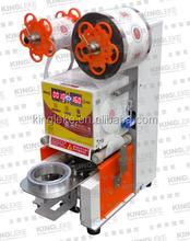 Commercial Automatic Bubble Milk Tea Cup Sealing Machine
