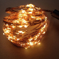 Christmas Decorative Waterproof Mini Copper Wire Strand Led Serial Lights