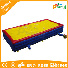inflatable big air bag jump stunt airbag for sport games