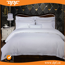 China Brand 100%Cotton Embroidery Polyester Hotel linen Bedding Set