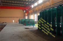 CE Certification Rubber Tile Vulcanizing press , rubber plate vulcanizer ,rubber curing press auto rubber parts processing