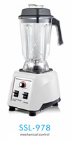 Heavy-duty commercial food blender with copper coil motor, good for home and commercial use (SSL-978)