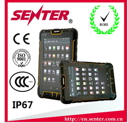 7 Inch Android 4.1 rugged/Industrial tablet PC with NFC RFID/UHF RFID 1D/2D barcode scanner Rugged tablet PC with 3G/wifi/gps