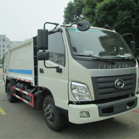 FOTON FORLAND 4-6m3 6-8m3 4X2 compactor garbage truck