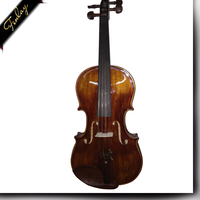 With Case and Bow Solid Spruce Wind Music Flame Maple Violin Music Instrument