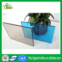 lexan uv blocking textured corrugated impact resistance waterproof high quality celluar polycarbonate sheeting