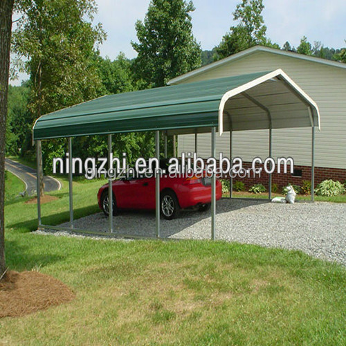 Metal Carport Landscaping : Carport m garden backyard shed portable car boat