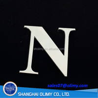 Olimy customize ABS Injection Plastic car Auto Parts for car mark