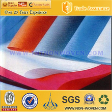 Wholesaler Fabric Supply Recycle Disposable spun bond non-woven Fabric(Blue color)