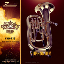 Sale quality brass euphonium with cheap price