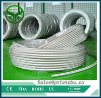 EPDM inner tube 304 stainless steel braided metal hose used for water suniu china