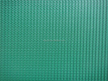 5mm Green pvc belt rough top