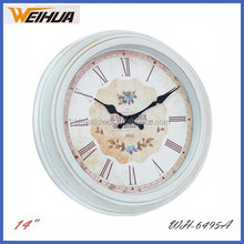 14 inch antique style wall clock
