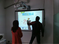 2015 Hot Selling Interactive Whiteboard with 82inch Size and aluminium frame for whiteboard whiteboard marker pen for Teaching