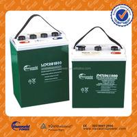 Best quality Solar Panel GEL Battery 6V 100ah for Solar System Power Storage Battery