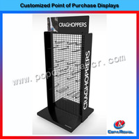 Wholesale cheap high end clothes display stand/clothes display rack