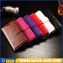Stand wallet leather case for sony xperia z4 mini flip cell phone cases