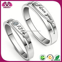 Cute Couple Ring New Model Platinum Ring Price In India