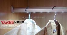 High quality Optional size Aluminum 100kg bearing led sensor wardrobe light