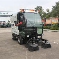 High Filter accuracy mini street sweeper