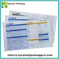 cheap continuous courier logistics waybills factory direct sale