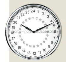 24 hour analog wall clock new design 24 hour wall clock