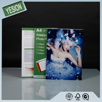 Yesion 2015 Professional Photo Paper Supplier A4 A3 Size Full Color High Glossy Inkjet Printing Photo Paper For Minilab