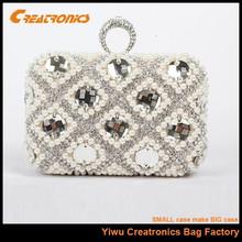 2014 womens top fashion rhinestone crystal clutch bag