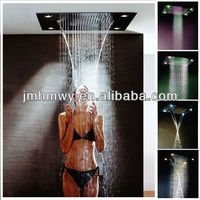 wholesale bathroom sanitary ware ceiling led hot and cold shower head