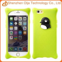 New design animal mobile phone case silicon case for iphone 6 plus