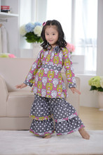 2014 Winter collections! Kids Wholesale Fancy Cotton Baby Girls Clothing Sets , baby toddler clothing, carter's baby clothing