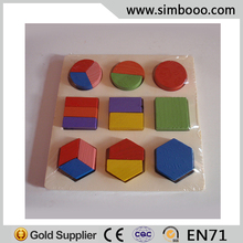 Colorful Wooden Building Blocks Educational Toys Intelligence Development