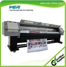 3.2m Polaris 35PL print heads 1440dpi large format solvent outdoor advertising printer