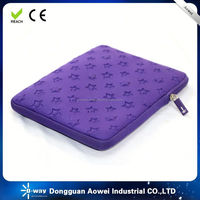 2015 hot selling promotional new design 11.6 inchs neoprene laptop sleeve