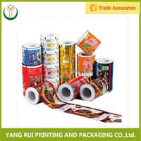 China products Safety Food Grade plastic packaging roll film for wet wipe,food grade food packaging roll film,ldpe scrap film