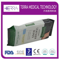 Best Quality Leather Sofa/Bag/Shoe Polishing & Cleansing Wet Wipes/Tissue
