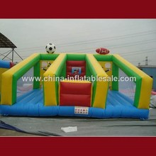 Funny Cheap basketball soccer and inflatable football arena H4-0604